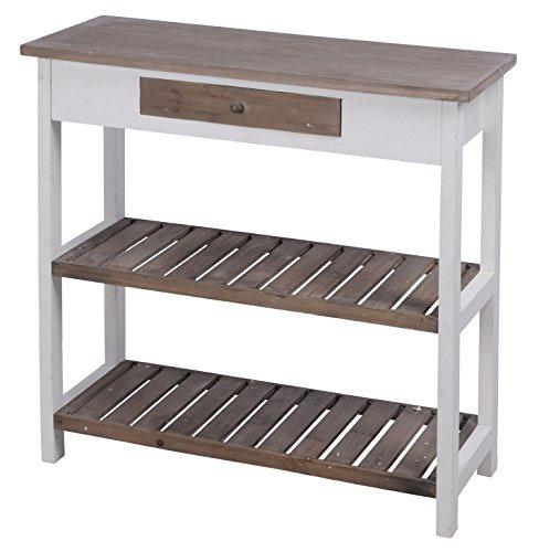 Kommode-Sideboard-Anrichte-Pflanztisch-Konsolentisch-Holz-L80cm