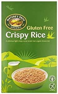 Natures Path Crispy Rice Gluten Free Organic Breakfast Cereal 284 g (Pack of 4)