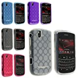 eForCity 5 PCS RING HARD GEL CASE COVER Compatible with BLACKBERRY BOLD 9650