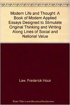 Contemporary Art Essays (Examples)