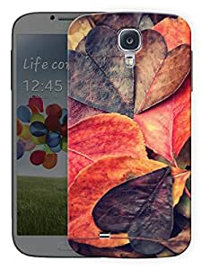 """Heart Leaves Printed Designer Mobile Back Cover For """"Samsung Galaxy S4"""" (3D, Matte, Premium Quality Snap On Case)"""