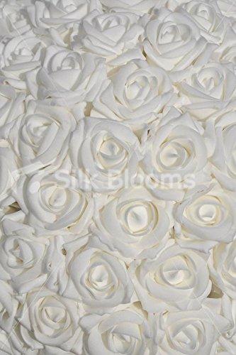 Table en verre à martini Blanc en mousse Rose Or de mariage Arrangement