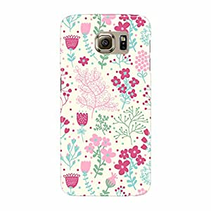 Fusion Gear Flowers Pattern Case for Samsung Galaxy S6