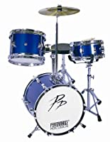 Performance Percussion - 3 Piece Drum Kit - Blue from Performance Percussion
