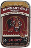 Newman's Own Organics Mints, Cinnamon, 1.76-Ounce Packages (Pack of 6)