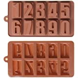 Silicone Number Ice Tray, Candy, Crayon, Soap or Candle Mold