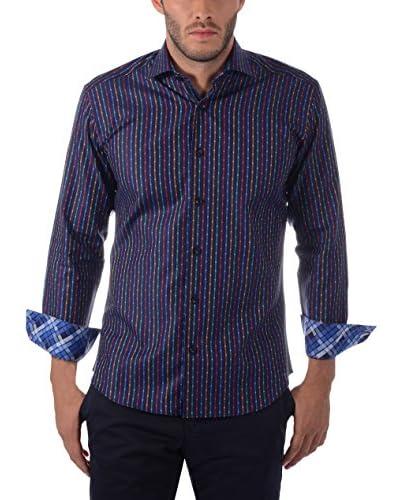 Bertigo Men's Tailored Button-Up