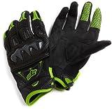 Fox Head Men's Bomber Glove, Black/Green, Medium(9)
