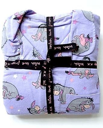 Ladies Official Winnie The Pooh Eeyore Pyjamas Pjs Pajamas