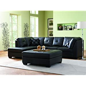 Cheap Modern Leather Sectional Sofas with Chaise