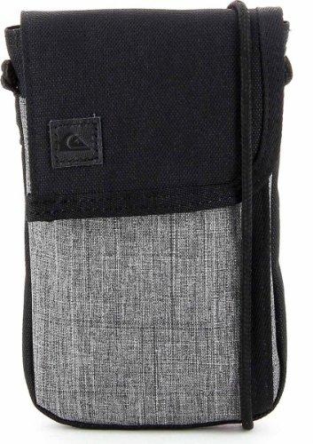 Quiksilver, Borsa a tracolla, Grigio (Gunsmoke), 40 cm