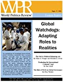 img - for Global Watchdogs: Adapting Roles to Realities (World Politics Review Features) book / textbook / text book