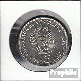monedas para coleccionistas: Venezuela Schönnr: 63a 1. Emblema del Estado de/Simon Bolívar venezolano muy ya muy...