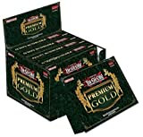 Yugioh Card Game 2014 Gold Series: Premium Gold Booster Box - 15 packs / 5 cards