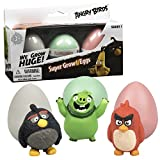 Angry Birds the Movie Super Grow Eggs - Hatch and Grow 3 Different Characters - (Series 1)