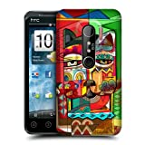 Head Case Sphynx Aztec Cat Protective Snap-on Back Case Cover For HTC EVO 3D