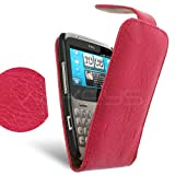 Femeto Pink PU Leather Flip Case for HTC ChaCha HTC ChaCha Case Cover