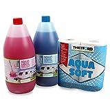 Set Toilettenflüssigkeit für Abwassertank und Spülbehälter