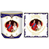 Royal Wedding Bone China York Mug and Coaster