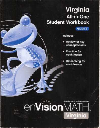 Virginia All-in-One Student Workbook, Grade 2, enVision Math