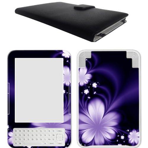 Amzon Kindle 3 (Kindle Keyboard) Leather Case Cover Jacket