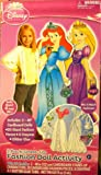 Jumbo Sized Disney Princess Cardboard Paper Dolls ~ 4 Ft. Tall!