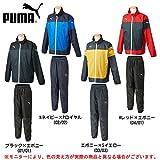 PUMA(プーマ) 裏付きウインドブレーカー上下セット 903617/903614 (M, ブラック×エボニー(01/01))