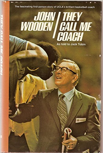 They Call Me Coach, Wooden, John R.; Tobin, Jack