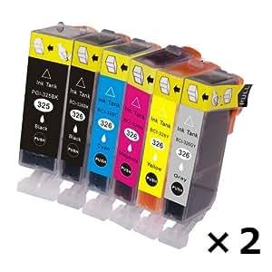 No brand 【BCI-325/326canon互換インク】6色セット×2パック(計12個入り)