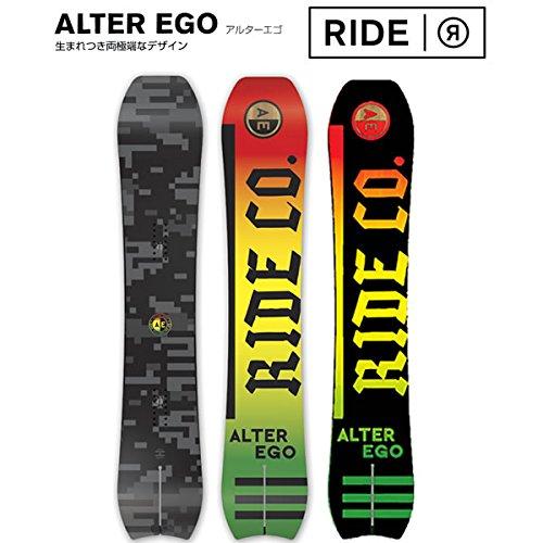 RIDE(ライド) ライド スノーボード 15-16 Alter Ego アルターエゴ 159cm ワックスサービス!RIDE (15-16 15/16) パウダー スノーボード 板
