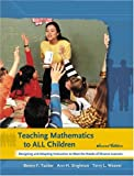 img - for By Benny F. Tucker Teaching Mathematics to All Children: Designing and Adapting Instruction to Meet the Needs of Divers (2nd Edition) book / textbook / text book