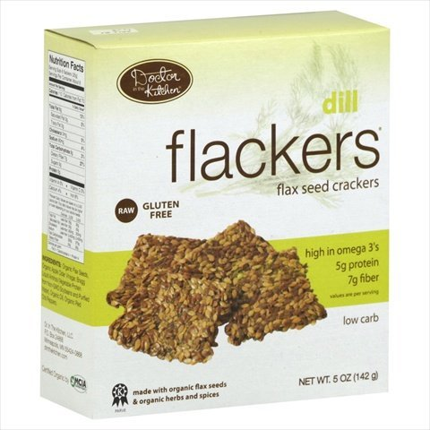 DOCTOR IN THE KITCHEN CRACKER FLXSD DILL, 5 OZ (Dehydrated Crackers compare prices)