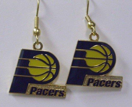 NBA Dangling Earrings - Indiana Pacers Logo