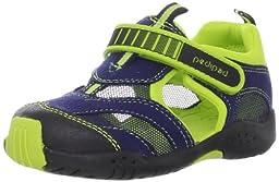pediped Flex Delmar Sneaker (Toddler/Little Kid),Blue,26 EU (9-9.5 M US Toddler)