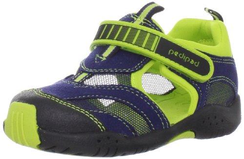Pediped Flex Delmar Sneaker (Toddler/Little Kid),Blue,27 Eu (10-10.5 M Us Little Kid) front-1001063