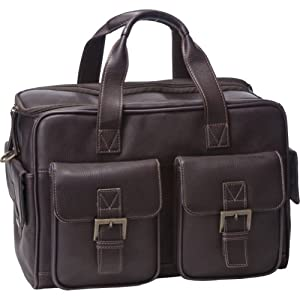 Jill-e 961495 Jack Leather Camera Bag Medium (Brown)
