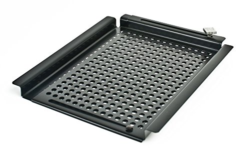 Charcoal Companion CC3010 Non-Stick SpaceSaver Adjustable Grilling Grid