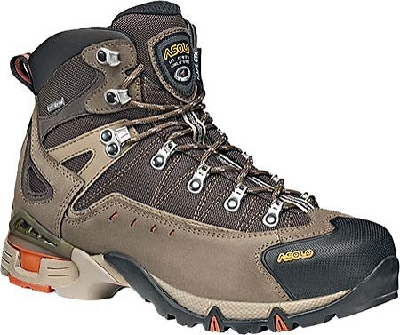 Asolo Flame GTX Hiking Boot Wide 10 Cortex/Dark Brown