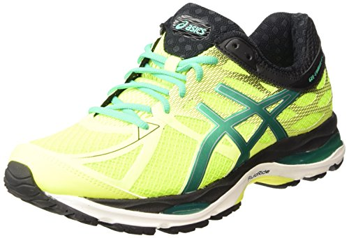 ASICS Gel-cumulus 17 - Scarpe Running Uomo, Giallo (flash Yellow/pine/black 0788), 41 1/2 EU