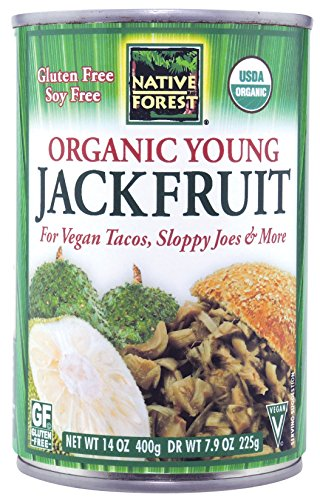 Native Forest Organic Vegan Meat Substitute, Young Jackfruit, 14 Ounce (Pack of 6)