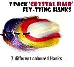 Pack of 7 - Crystal Hair Hanks for Fl...