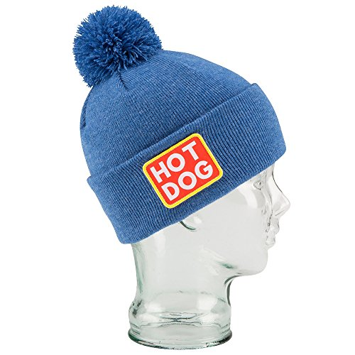 Coal Vice Beanie (Heather Royal Blue/Hot Dog,O/S) (Hot Dog Beanie compare prices)