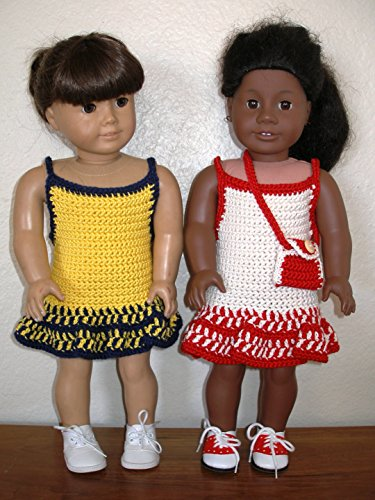 Two Best Friends: Crochet Pattern for Dolls clothes