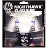GE Nighthawk Platinum Halogen Headlight Bulbs $18.99
