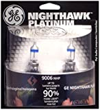GE 9006NHP/BP2 Nighthawk PLATINUM Headlight Bulbs (Low Beam), Pack of 2