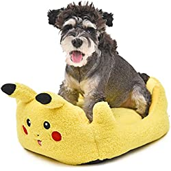 "PAWZ Road Cartoon Pikachu Pet Bed Ideal for Small Animal 20.5""x16.9"""