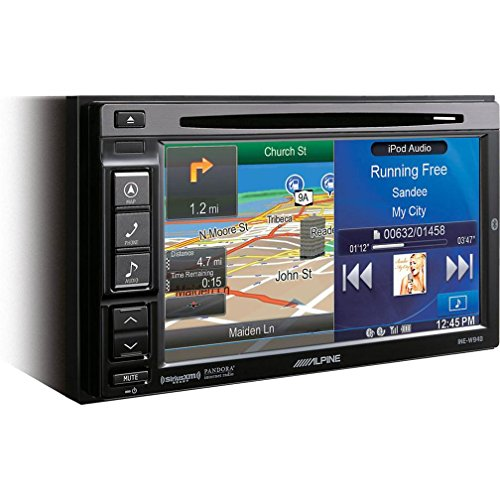 "Alpine INE-W940 6.1"" Bluetooth USB MP3 Multimedia DVD/GPS Receiver"