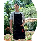 Weber 6474 Barbecue Apron, Black