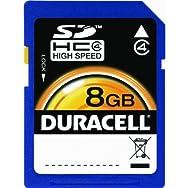 Dane-Elec DU-SD-8192-C Duracell SD Memory Card-8GB SDHC MEMORY CARD