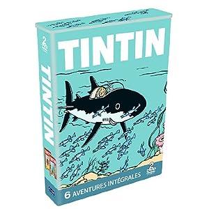 Tintin : 6 aventures intégrales - Coffret 2 DVD [Édition Limitée]